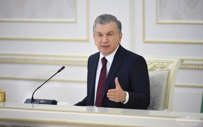 Президент видеоселектор йиғилишини ўтказди