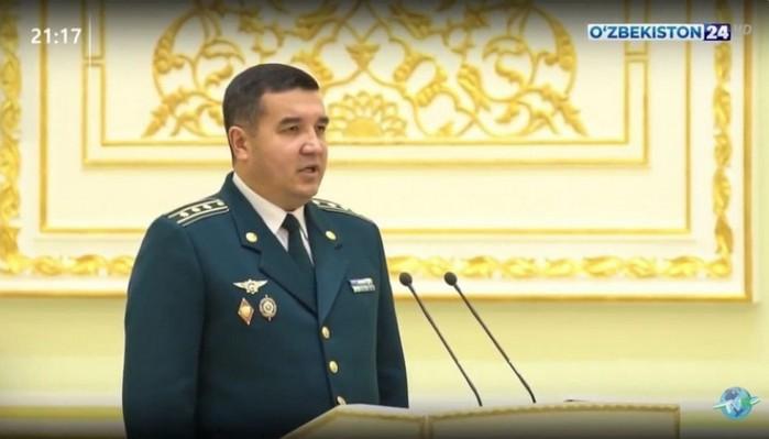 Ўзбекистон тарихида иккинчи маротаба ёш ходимга генерал-майор унвони топширилди.